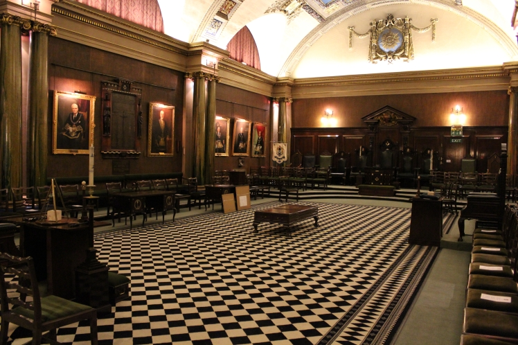 The Holmes Lodge Room, Freemasons' Hall, Leicester